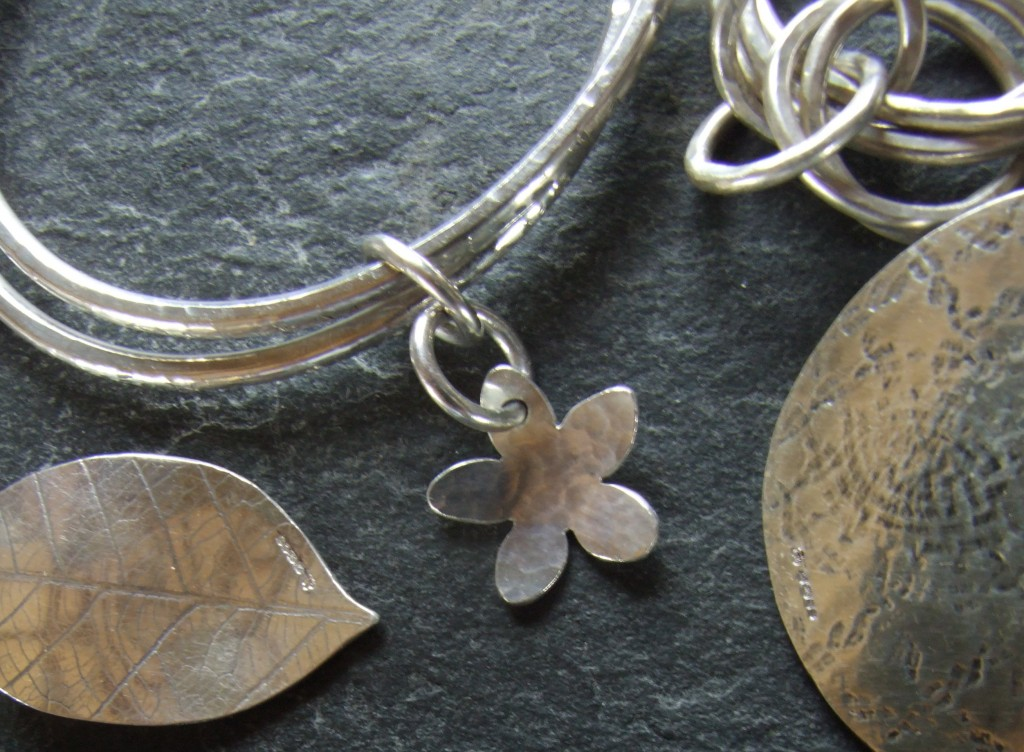 Handmade silver jewellery by Aine
